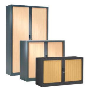 Armoire à rideaux monobloc gamme PLUS